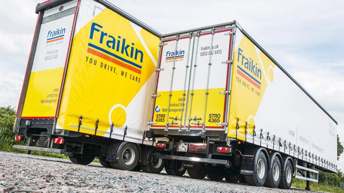 Wynajem długoterminowy zyskuje na popularności nie tylko w przypadku ciężarówek, ale też naczep (fot. Fraikin)