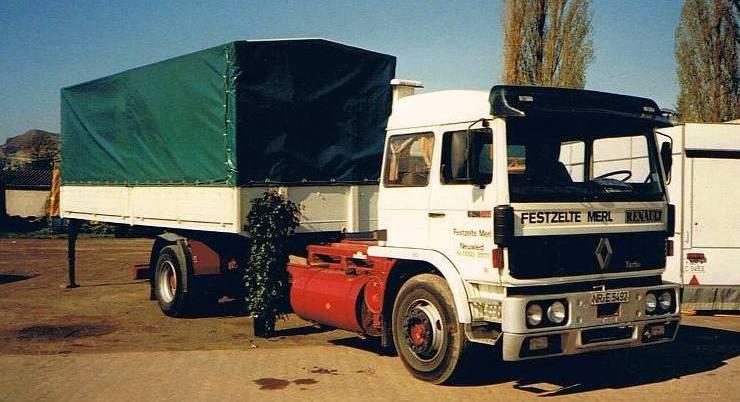 W ciężarówkach serii G montowano poszerzone kabiny zlżejszych pojazdów serii J (fot.Le Camion Club de France)