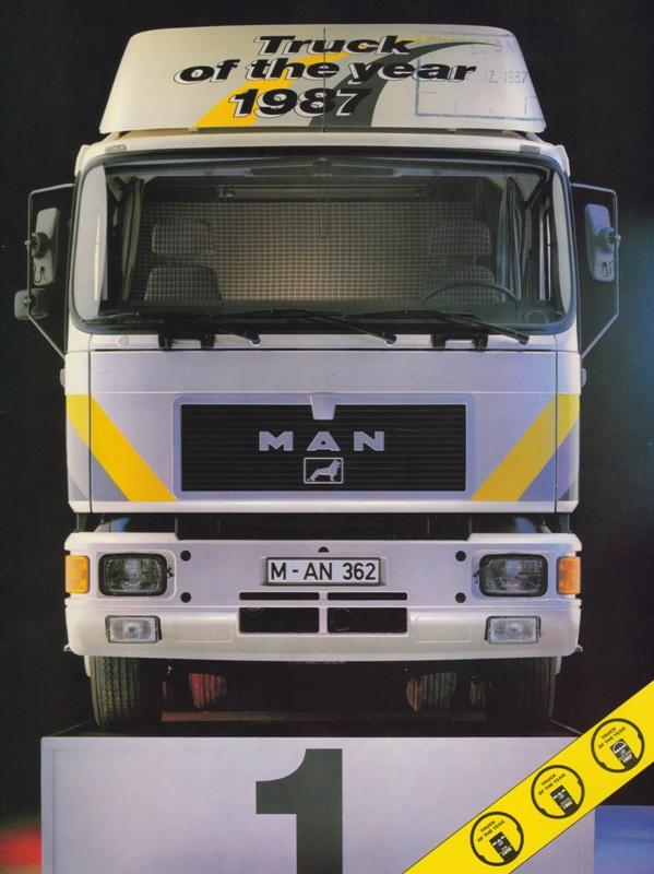 MAN F90 produkowany był do1995 r. (fot.MAN)