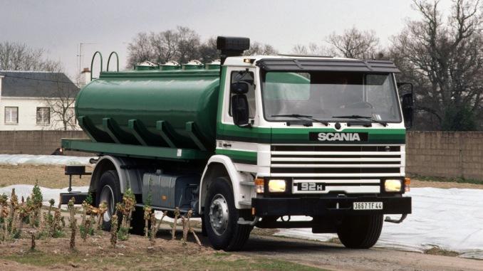 Najlżejsza odmiana serii 3 przeznaczona była dotransportu naniewielkie odległości (fot.Scania)