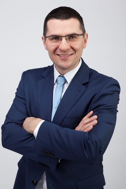 Łukasz Chwalczuk – wspólnik wkancelarii prawnej Iuridica, prezes zarządu OSPTN, ESTA Transport Section Executive (fot.Iuridica)