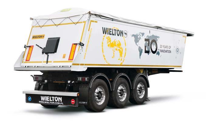 3.miejsce: 3299 naczep dostarczył klientom Wielton SA, zostając liderem wsprzedaży wywrotek; wubiegłym roku firma zwiększyła sprzedaż naczep aż o39,6% (fot.Wielton)