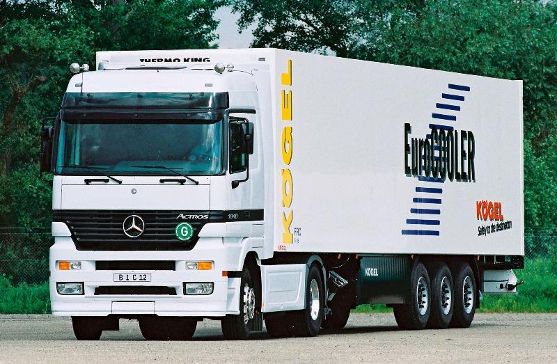 Mercedes-Benz Actros zastąpił ceniony zaniezawodność model SK (fot.Mercedes-Benz)