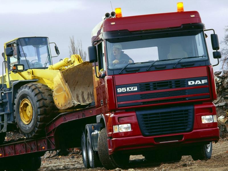 """DAF 95XF topierwszy model marki powstały """"pod skrzydłami"""" koncernu Paccar (fot.DAF)"""