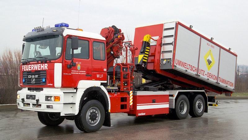 MAN F2000 był często wybierany jako nośnik zabudów specjalistycznych (fot.MAN)