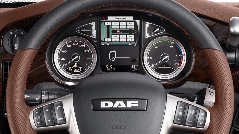Wnętrze DAF XF Exclusive Line (fot.DAF)