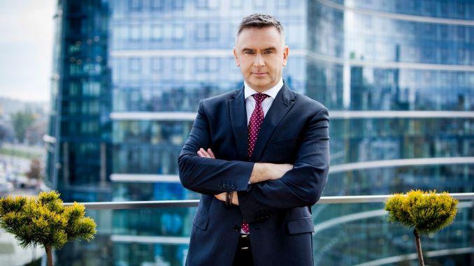 Na zdjęciu Andrzej Krzemiński, przewodniczący Komitetu Wykonawczego Związku Polskiego Leasingu