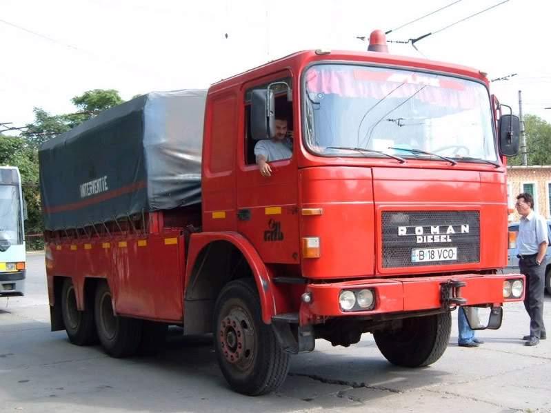 Licencyjny, produkowany wRumunii, Roman importowany był również doPolski (fot.SC Roman SA)