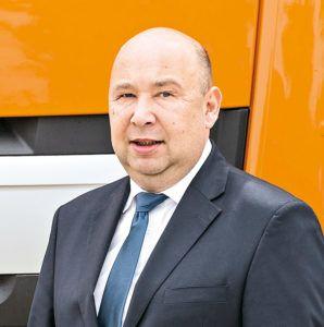 Maciej Taniewski, dyrektor zarządzający DAF Trucks Polska (fot.DAF Trucks Polska)