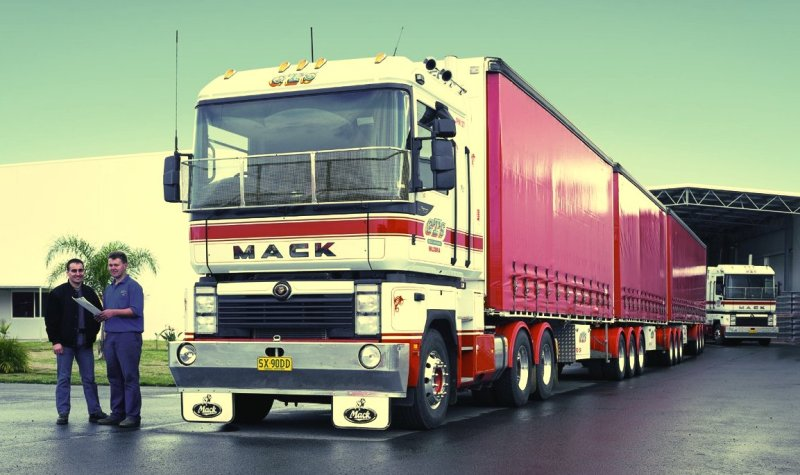W Australii ciężarówka sprzedawana jest podmarką handlową MACK (fot.Renault Trucks)
