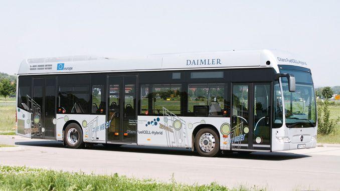Ogniwo wodorowe tojeden zmniej popularnych kierunków rozwoju napędów alternatywnych (fot.Daimler)