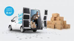 Elektryczny furgon Nissan e-NV200 XL Voltia pozwala zaoszczędzić czas ipieniądze