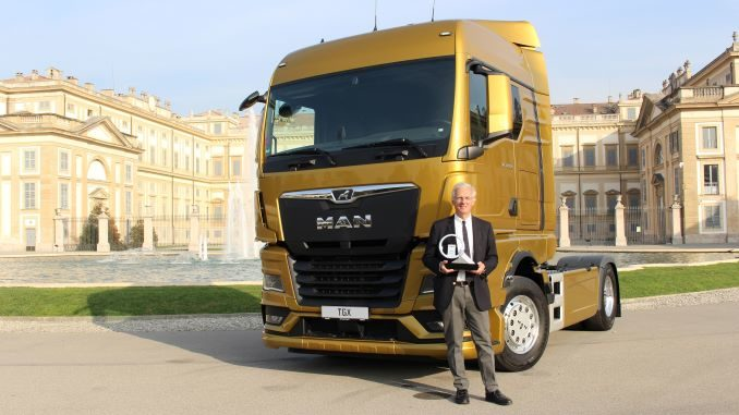 Gianenrico Griffini, przewodniczący jury konkursu Internationa Truck of the Year