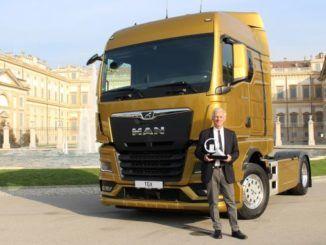 Gianenrico Griffini, przewodniczący jury konkursu Internationa Truck of the Year